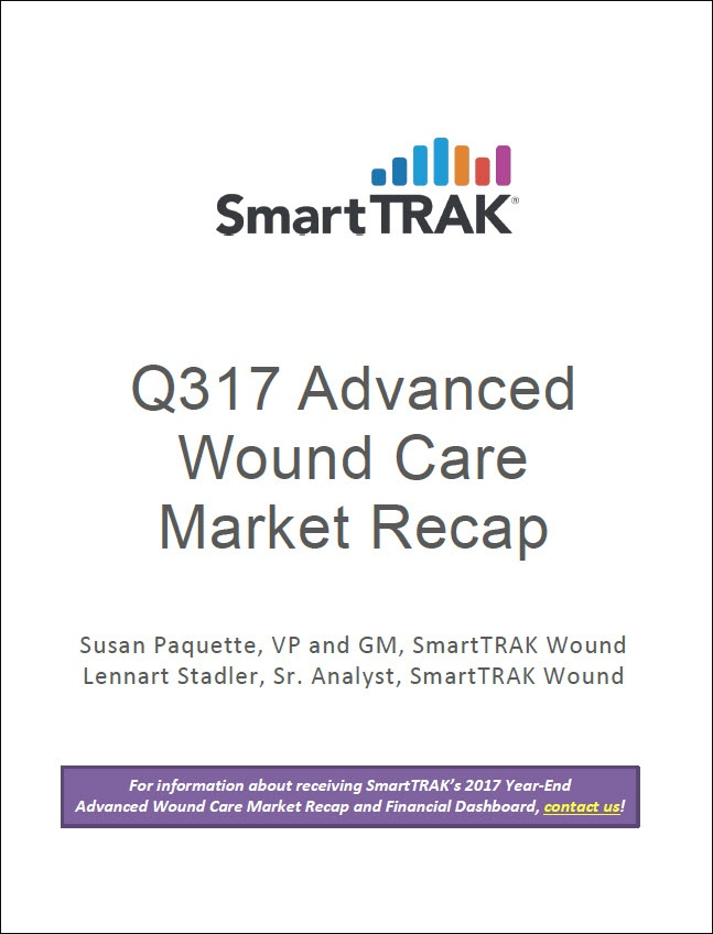 SmartTRAK Q317 Advanced Wound Care Market Recap