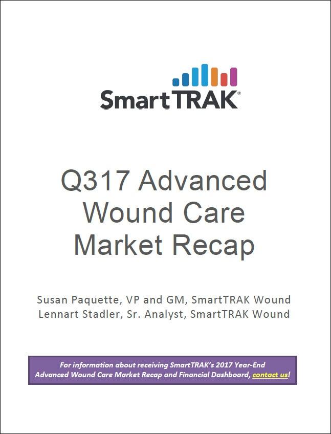 SmartTRAK Q317 Advanced Wound Care Market Recap