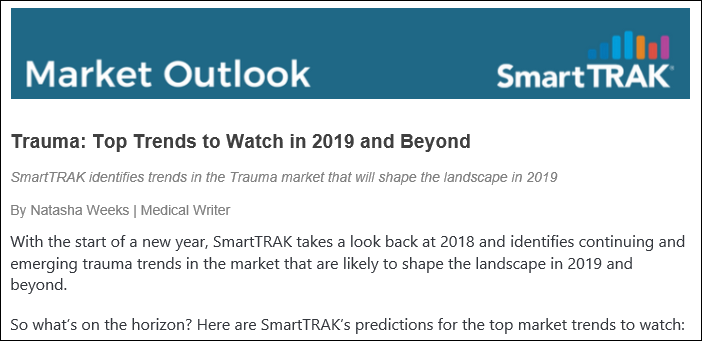 Trauma Top Trends 2019 Preview 1 Border